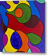 Color My World Bright Metal Print