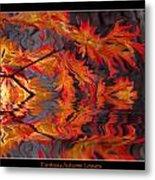 Color Of Autumn Metal Print
