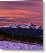 Color Of Dawn Metal Print