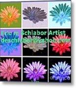 Color Of Lilies Metal Print