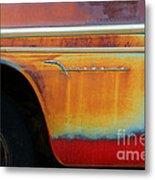 Color Of Rust Metal Print