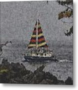 Color Of The Sails Metal Print