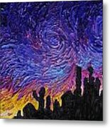 Color Of The Sky Part1 Metal Print