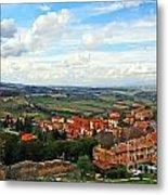 Color Of Tuscany Metal Print