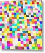 Color Quilt Metal Print