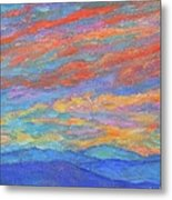 Color Ripples over the Blue Ridge Metal Print