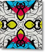 Color Symmetry 3 Metal Print