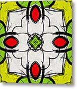 Color Symmetry  Metal Print