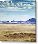 Color View Of West Texas Metal Print