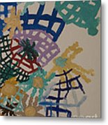 Color Webs Metal Print