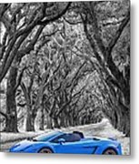 Color Your World - Lamborghini Gallardo Metal Print by Steve Harrington