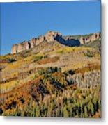 Colorado, Autumn, Just East Of Ridgway Metal Print
