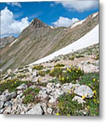 Colorado Elkhead Pass Metal Print