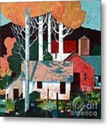 Colorado Farm Metal Print