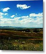 Colorado Fields Metal Print by Christian Rooney