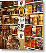 Colorado General Store Supplies Metal Print
