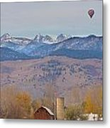 Colorado Hot Air Ballooning Metal Print