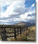 Colorado In Autumn Metal Print