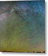 Colorado Indian Peaks Milky Way Panorama Metal Print