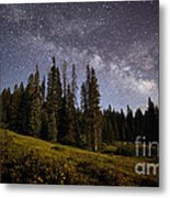 Colorado Milky Way Metal Print