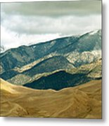 Colorado Mountain View Metal Print by Eva Kato