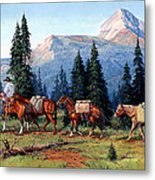 Colorado Outfitter Metal Print