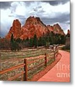 Colorado Path To Paradise Metal Print