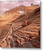 Colorado Plateau Sandstone Arizona Metal Print