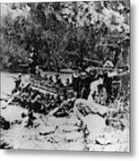 Colorado Railroad Wars Metal Print