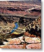 Colorado Rapids Grand Canyon Metal Print