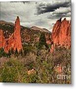 Colorado Red Rock Landcape Metal Print