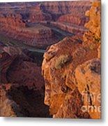 Colorado River At Dawn Metal Print