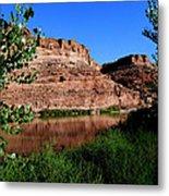 Colorado River At Moab Metal Print