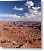 Colorado River Canyon From Dead Horse Metal Print