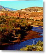 Colorado River Metal Print by Eva Kato