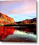 Colorado River Lees Ferry Painting Metal Print