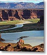 Colorado River Panoramic Metal Print
