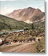 Colorado Roundup 1897 Metal Print