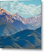 Colorado Sideroad Mountains Metal Print