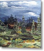 Colorado Skies Metal Print