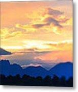 Colorado Sunset Metal Print