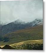 Colorado's Front Range Panorama Metal Print
