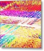 Colorburst Landscape Metal Print