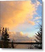 Colored Clouds Metal Print