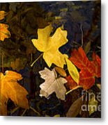 Colored Floaters Metal Print