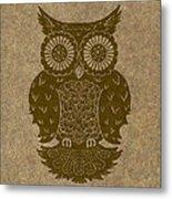 Colored Owl 3 Of 4  Metal Print