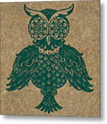 Colored Owl 4 Of 4  Metal Print by Kyle Wood