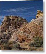 Colored Rocks Metal Print by T C Brown