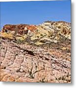 Colored  Stone Metal Print