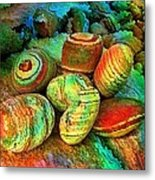Colored Stones By Rafi Talby   Metal Print